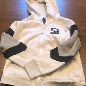 Nike Air Sweatshirt ZIP up hoodie size medium
